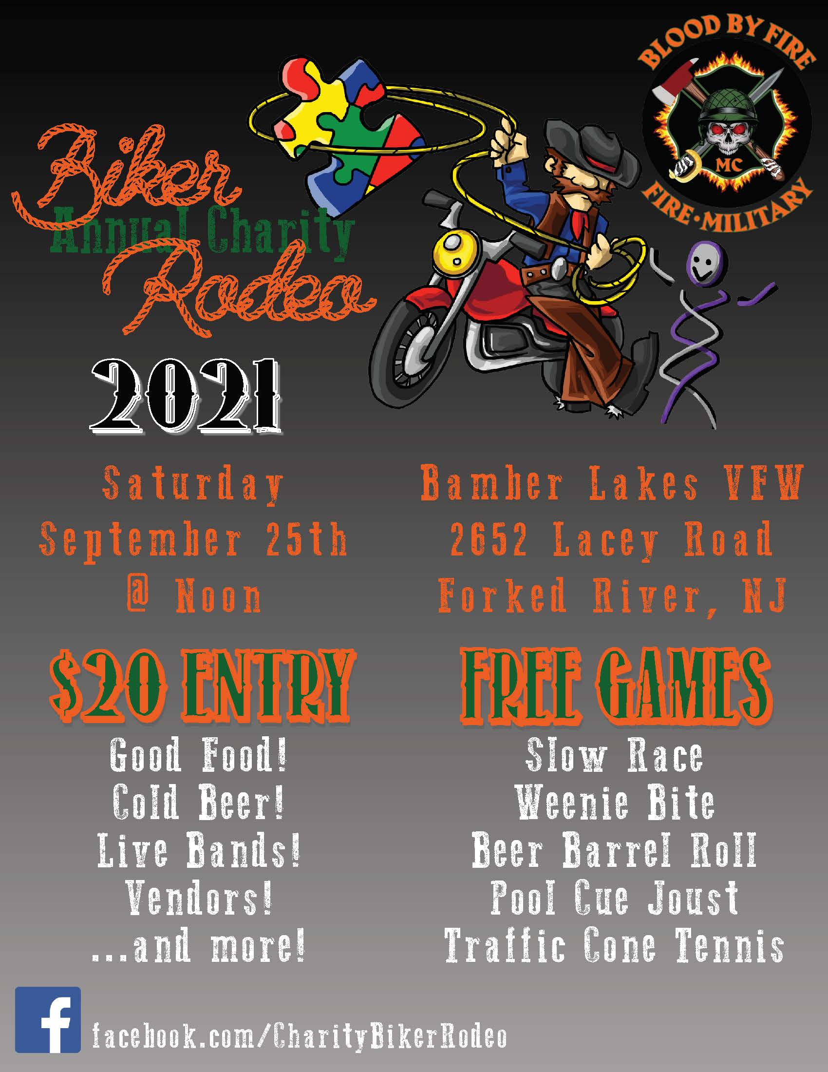 Biker Rodeo 9 25  - Blood by Fire MC Annual Biker Rodeo