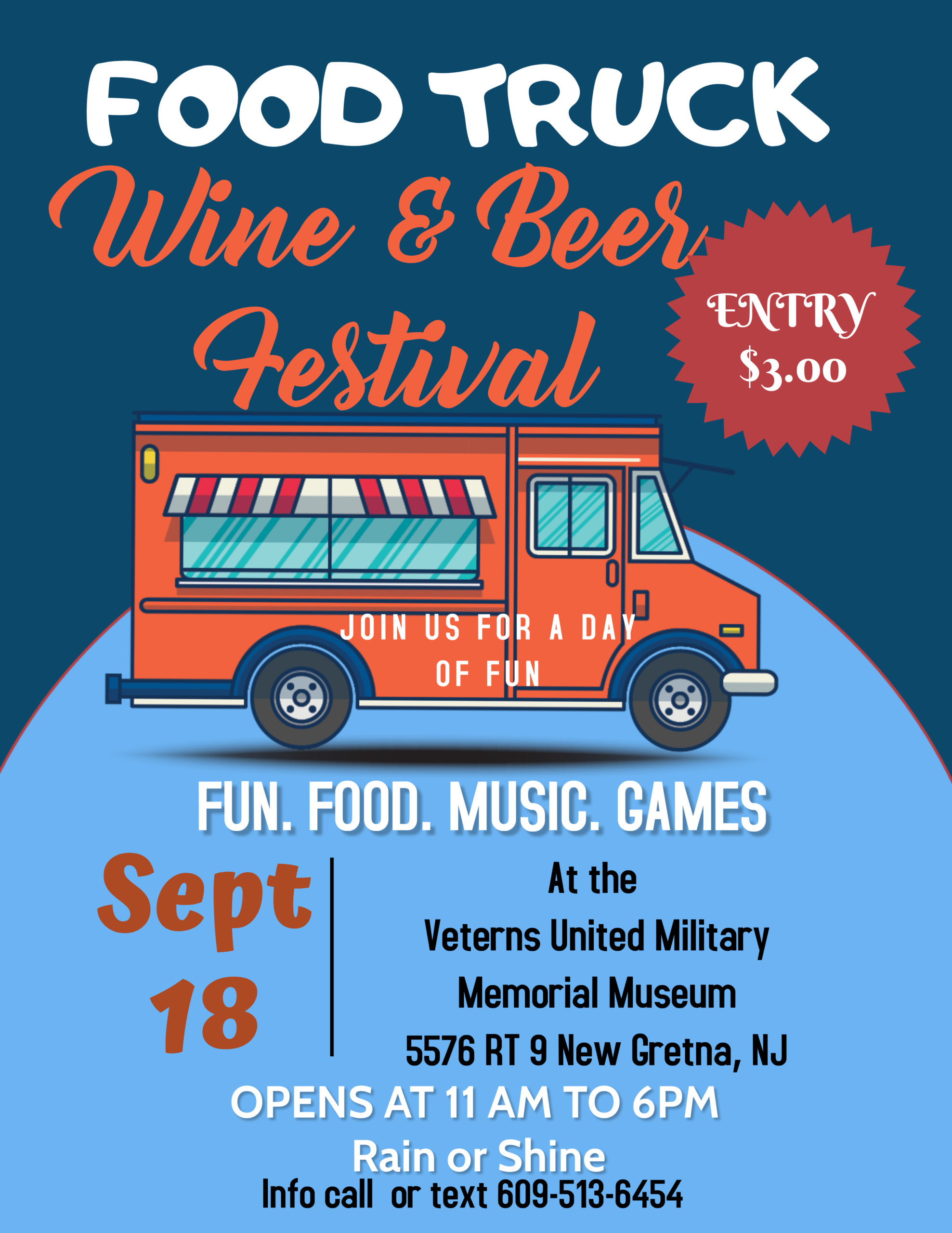 Copy of Copy of Food Truck Festival flyer 1 scaled - Food Truck Wine and Beer Festival