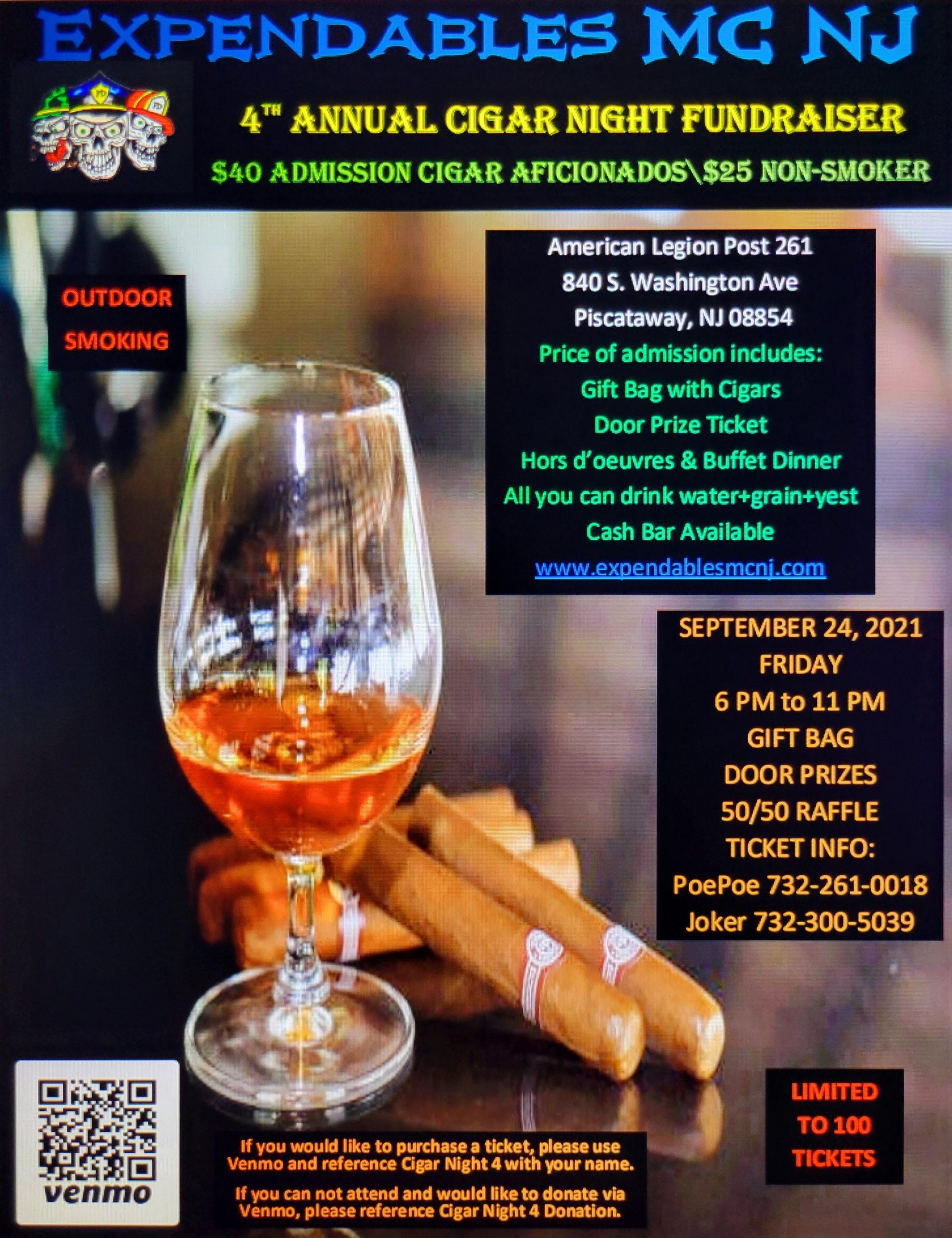 ExpMCNJCigar21 scaled - Expendables MC NJ Cigar Fundraiser