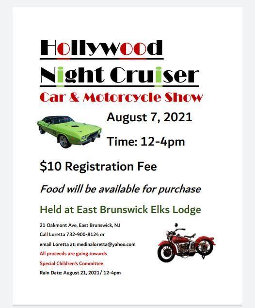 Hollywood Bike NIght - Hollywood Night Cruiser Car and Motorcycle Show
