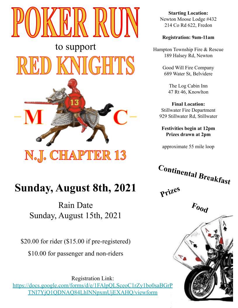 Red Knight Poker Run - Shealynn O'Toole