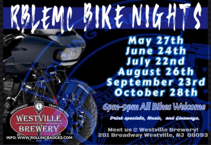 Rolling Badges 2 - Rolling Badges Bike Night