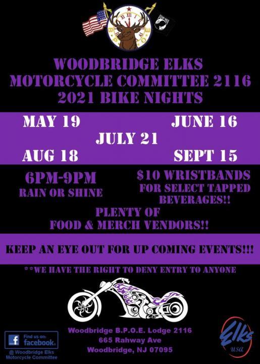 woodbridge elks - Woodbridge Elks Bike Night